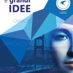 Grafica brochure scheda prodotto