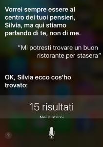 Grafica Cossu parla con Siri
