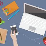 Illustrazione di workspace gratis da scaricare