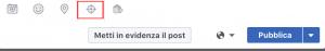 Targetizzare un post in fase di creazione da una pagina Facebook