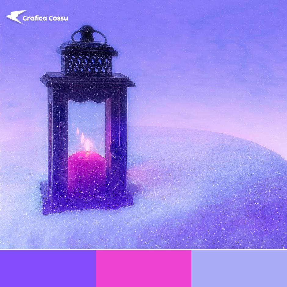 Palette di colori per Natale
