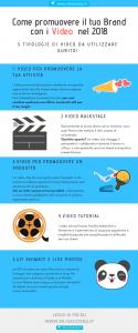 5 tipi di video per promuovere il tuo brand e il tuo business nel 2018: dai video prodotto ai video tutorial, tanti spunti per ispirarti!