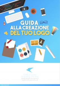 """Copertina dell'Ebook """"Come creare il tuo logo"""""""