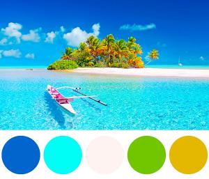 Palette di colori per il settore marittimo