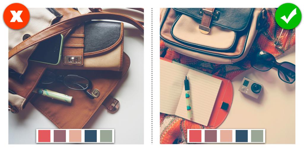 Quando creai un'immagine per i tuoi social applica sempre la palette di colori del tuo brand!