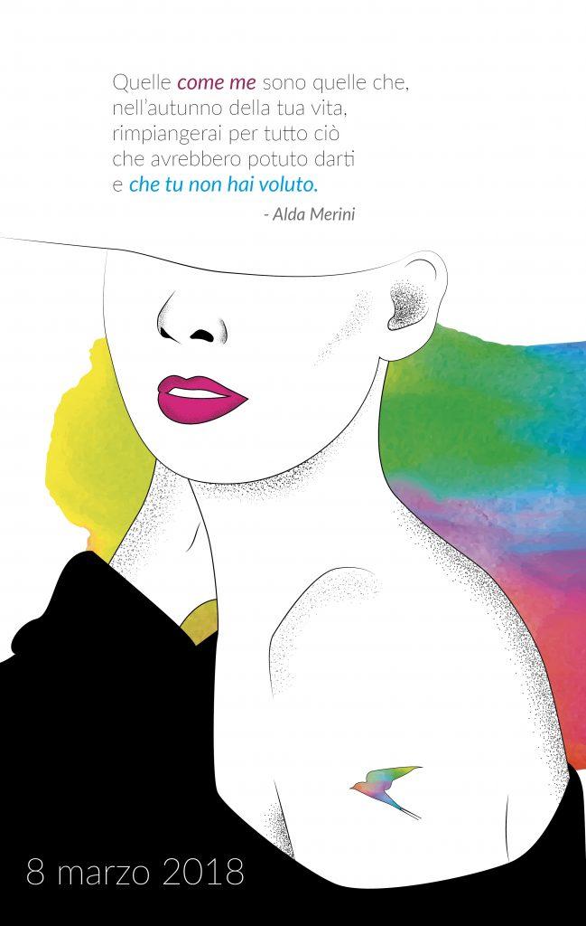 8 marzo con Alda Merini: scarica la cartolina gratuita!