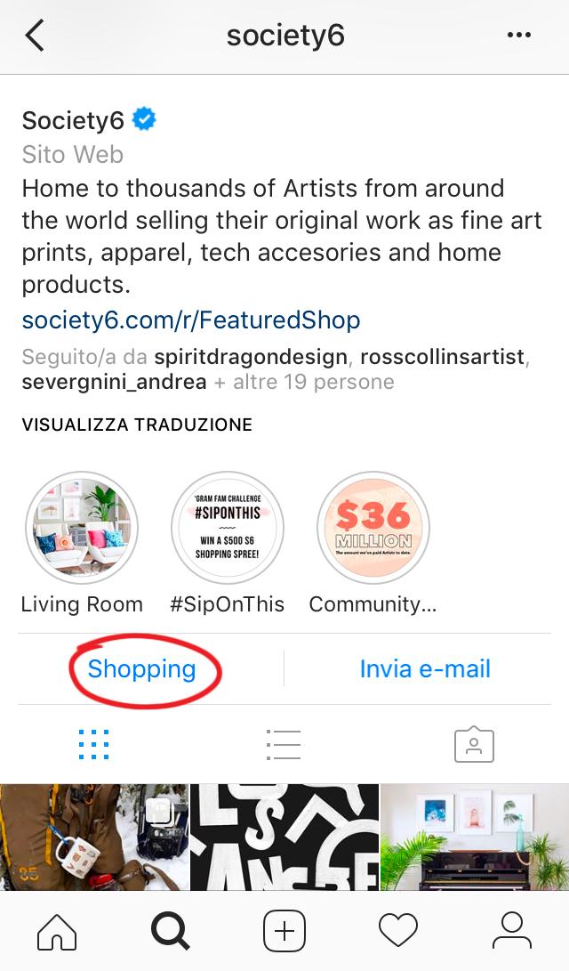 Come vendere su Instagram i propri prodotti
