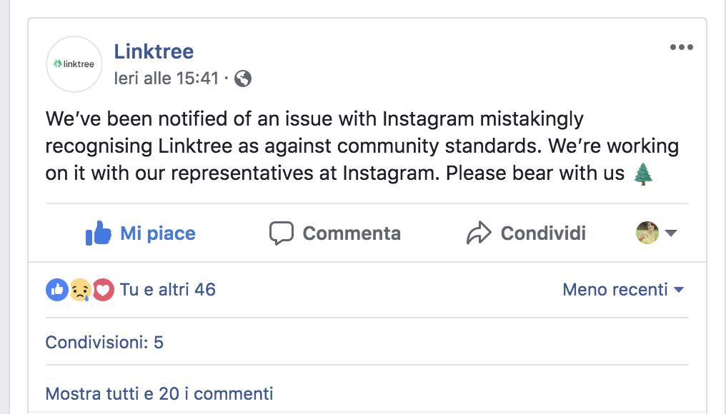 Linktree ha smesso di funzionare: ecco perché è importante avere una presenza online indipendente e di tua proprietà per il tuo business