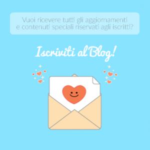 Iscriviti al blog di Silvia Cossu! Ricevi tutti gli aggiornamenti e contenuti esclusivi