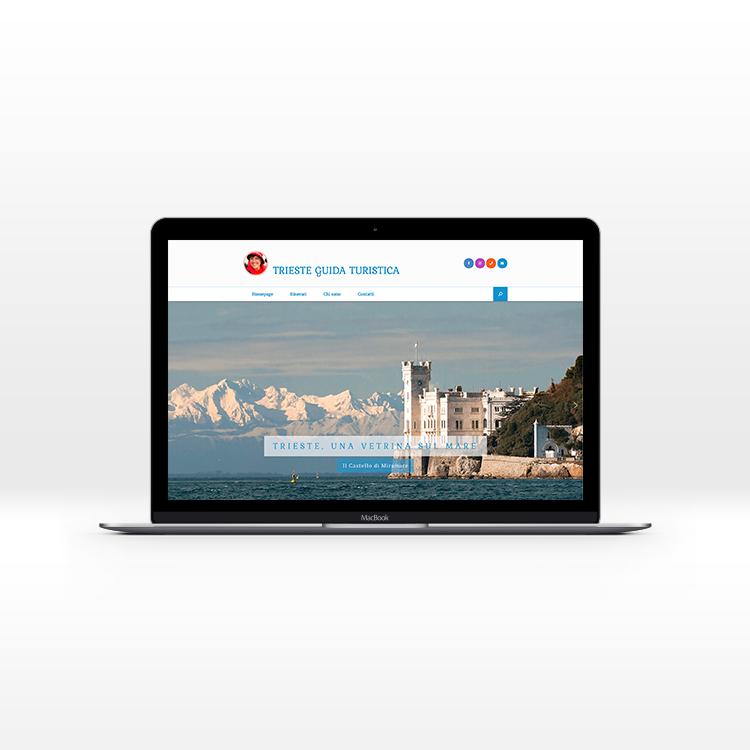 Sito web per la guida turistica di Trieste, realizzazione del sito di Silvia Cossu