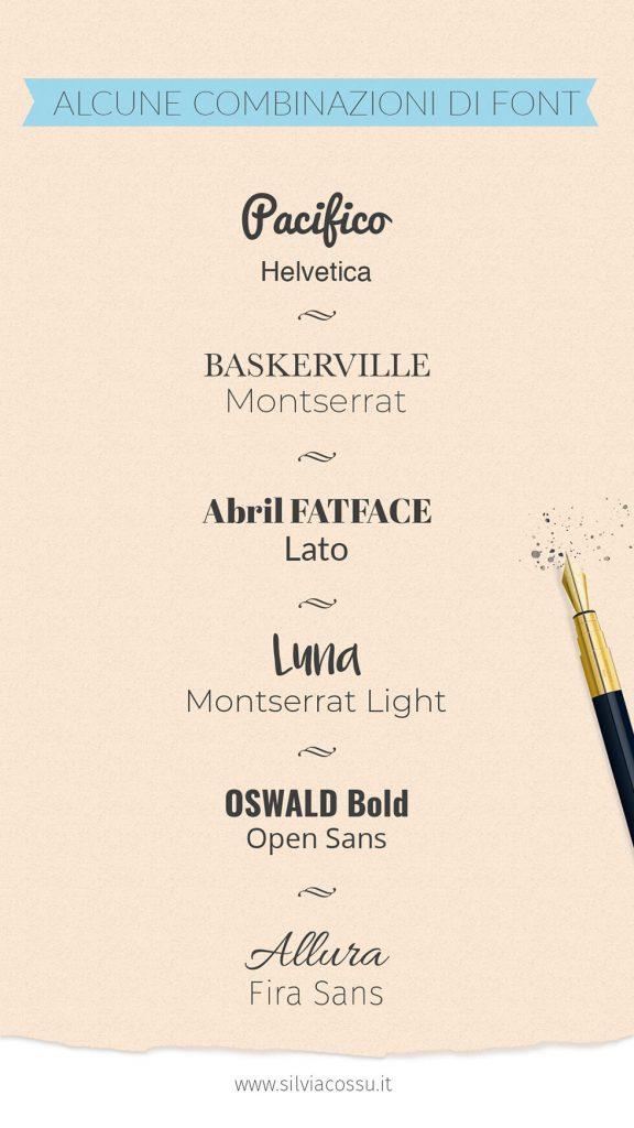 Combinare i font tra loro e accostarli in un progetto grafico: Silvia Cossu ti spiega come utilizzare i font in modo professionale