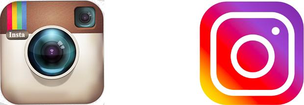 Cambiare il logo design dell'azienda: l'esempio del logo di Instagram