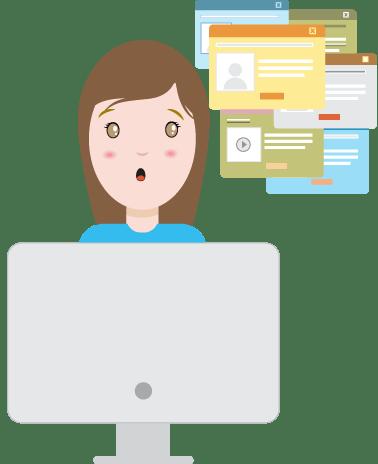 Troppe finestre e pop-up sul tuo sito sono un errore perché diventano elementi di disturbo per i tuoi utenti che lo navigano.